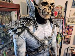 Skeletor Halloween Costume Lifelike Skeletor Costume Kinds Creepy Adafruit