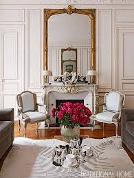 Colorful And Romantic Paris Apartment Traditional Home - Traditional apartment design