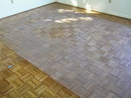 box344 refinishing a parquet floor