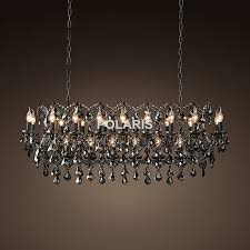 Real Candle Chandelier Vintage Smoky Chandelier Lighting Black Candle Chandeliers