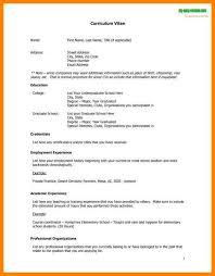 is cv 5 what is cv resume format grocery clerk