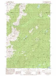 Washington Map State by Mount Washington Topographic Map Wa Usgs Topo Quad 47123e2
