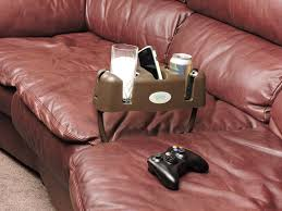 Sofa And Recliner Cupsy Sofa And Armchair Drink Organizer And