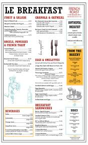 image result for french cafe menu catering for pinterest