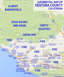 ventura county map judgmental maps ventura county ca by ben c copr 2014 ben c