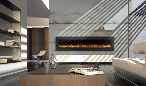 Napoleon Electric Fireplace Napoleon 100 Linear Built In Wall Mounted Electric