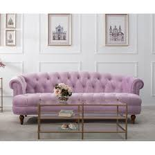 Sofas Chesterfield La Rosa Chesterfield Sofa Free Shipping Today
