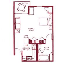 efficiency floor plans plush efficiency floor plans 5 1 bedroom plan one apartment home act