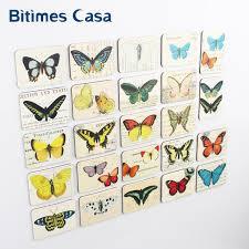 24pcs beautiful butterfly pattern refrigerator fridge magnets
