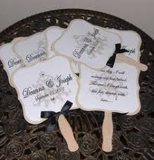 make your own wedding programs wedding program fans how easy is this to make we sticks