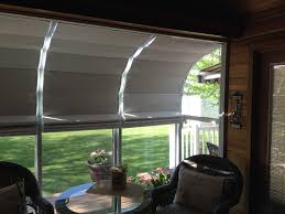 our sunroom shades offer easy do it yourself installation