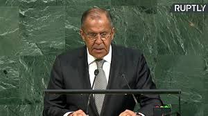 Seeking Rt Nato Is Seeking To Revive с War Climate Lavrov At Unga Rt