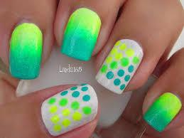 nail art neon dots decoracion de uñas puntos neón youtube