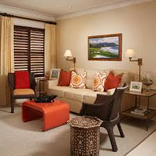 Gray Couch Decorating Ideas by Living Room Beige Sofa With Blue Pillows Red And Grey Living