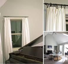 vintage style interior design with white cream ikea blackout