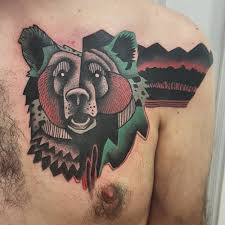 neo illustrative on the left chest