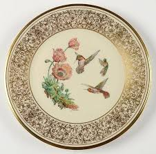 441 best plates birds images on plate miniature
