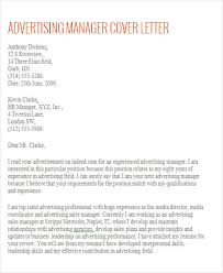 advertising account manager cover letter cover letter to temp