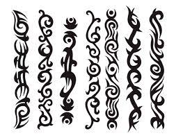 line designs for tattoos wristband german tribal armband