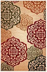 Modern Floral Area Rugs Feraghan New City Hil1044beige 2x4 Brand New