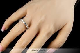 4 carat cubic zirconia engagement rings 4 carat eternity cut cubic zirconia 18k gold ring cz