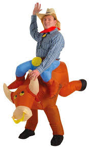 Halloween Costumes Cowboy Inflatable Bullrider Cowboy Costume Inflatable Costumes Cowboy