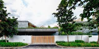 Home Courtyard Home With Underground Courtyard And Rooftop Gardens