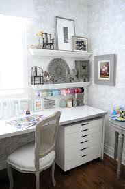 creative home office and craft room shabby chic style home