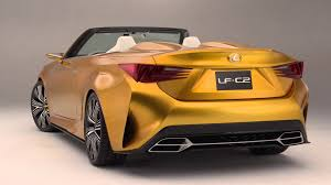 lexus isc certified pre owned lexus lf c2 concept convertible youtube