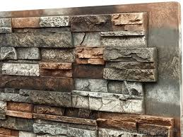 How To Clean Your Backsplash Creative Faux Panels - Stacked stone veneer backsplash