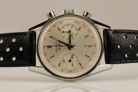 carrera watches 1960 heuer carrera watch for sale mens vintage chronograph