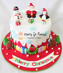 Christmas Cake Decorations Santa Sleigh by 278 Best Christmas Cakes U0026 Sweets Images On Pinterest Christmas