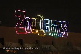 Zoo Lights Schedule by Holiday Lights In Phoenix Glitter And Glow In December