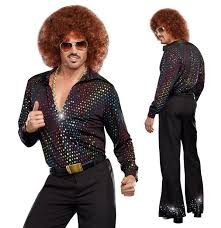 Halloween Disco Costumes Funny Man Wearing Halloween Disco Costume Jpg 599 620 Pixels