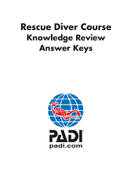 rescue diver knowledge review answers scuba diving hypothermia