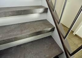 treppe mit laminat laminat treppenstufen in individueller beton optik