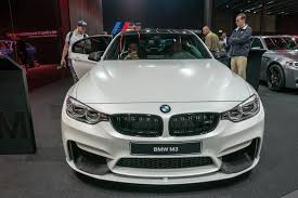 Bmw M3 Series - 2016 bmw m3 and 3 series get facelift more tech for frankfurt
