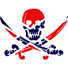 Confederate Flag Pin Rebel Skull Clipart