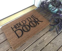 game of thrones hold the door mat