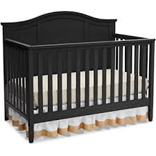 Black 4 In 1 Convertible Crib Delta Children Madrid 4 In 1 Convertible Crib Black