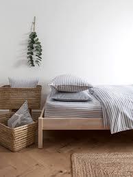 harriet hare ticking stripe bed linen range house of fraser