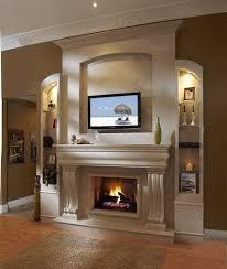 home design modern wood burning fireplace ideas banquette