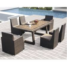 Costco Patio Furniture Dining Sets Costco Niko 7 Patio Dining Set By Sirio Outdoor