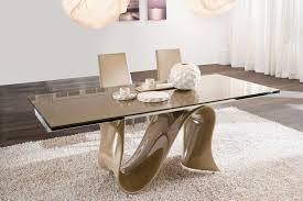 Dining Room Extension Table by Modern Glass Dining Table With Extension Modern Glass Dining