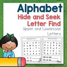 abc hide and seek letter find for preschoolers mamas learning corner