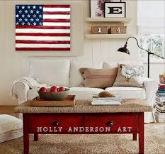 American Flag Living Room by American Flag Decorating U2013 Country Design Home