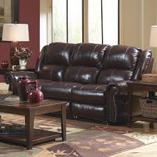 Reclining Living Room Sets Catnapper Livingston Power Reclining Sofa With Drop Down Table And