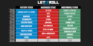 timetable for let it roll winter 2016 news let it roll festival