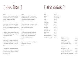 free menu layout templates exol gbabogados co