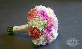 Wedding Flowers Gold Coast Carnation Wedding Bouquet Adam U0027s Garden Florist